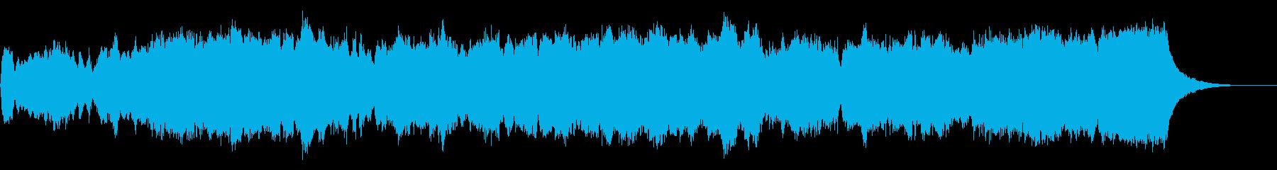 パイプオルガンのフーガ No.25の再生済みの波形
