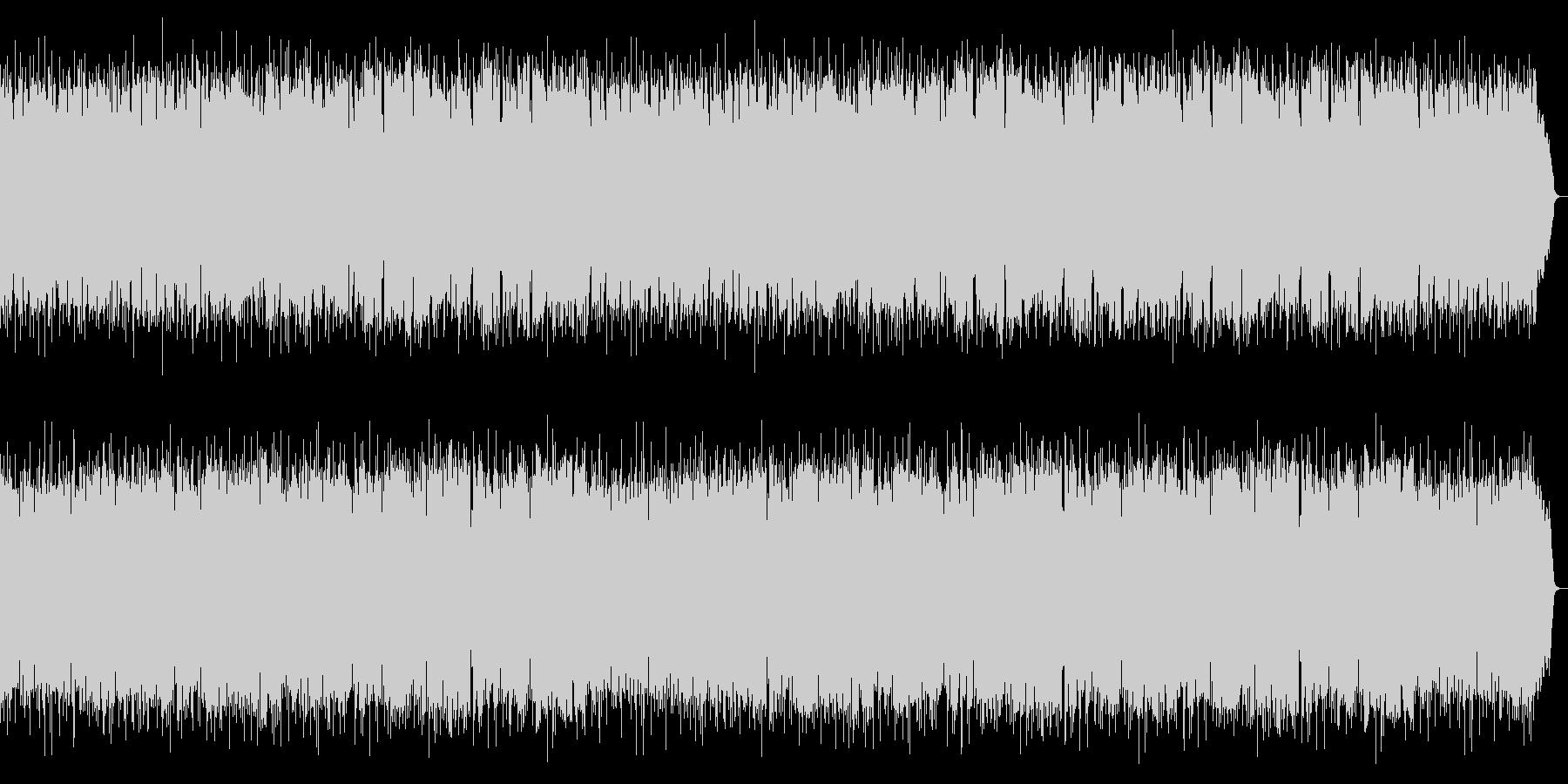 明るく疾走感あるボサノバをフルートが演奏の未再生の波形