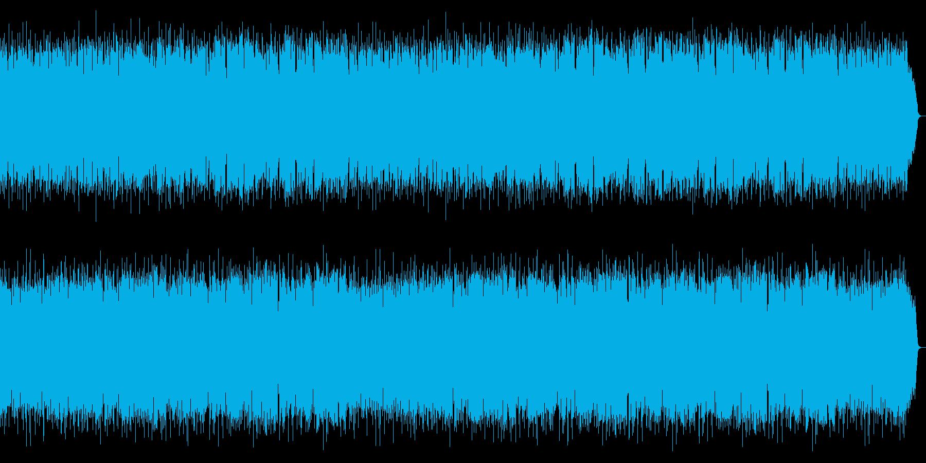 明るく疾走感あるボサノバをフルートが演奏の再生済みの波形