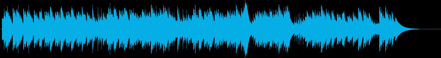 第17番テンペストよりベートーヴェンの再生済みの波形