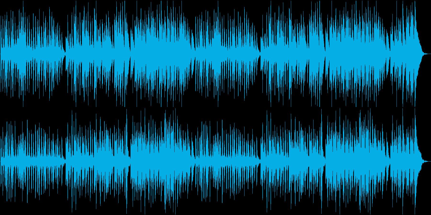 散歩をしている雰囲気のピアノ曲ですの再生済みの波形