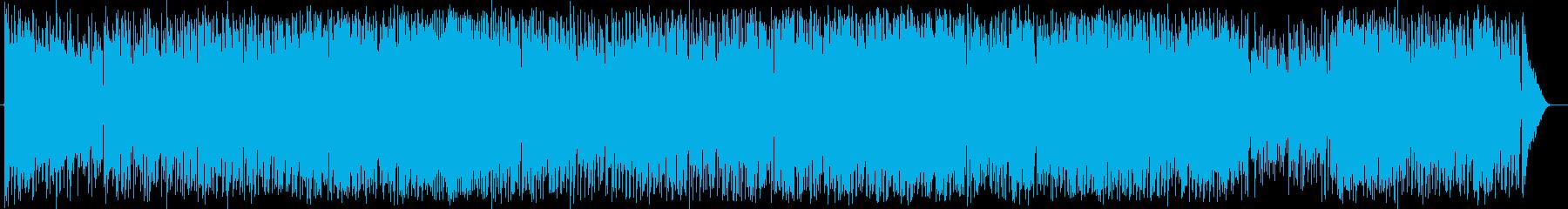 アコギを使用したほのぼのも怪しいBGMの再生済みの波形