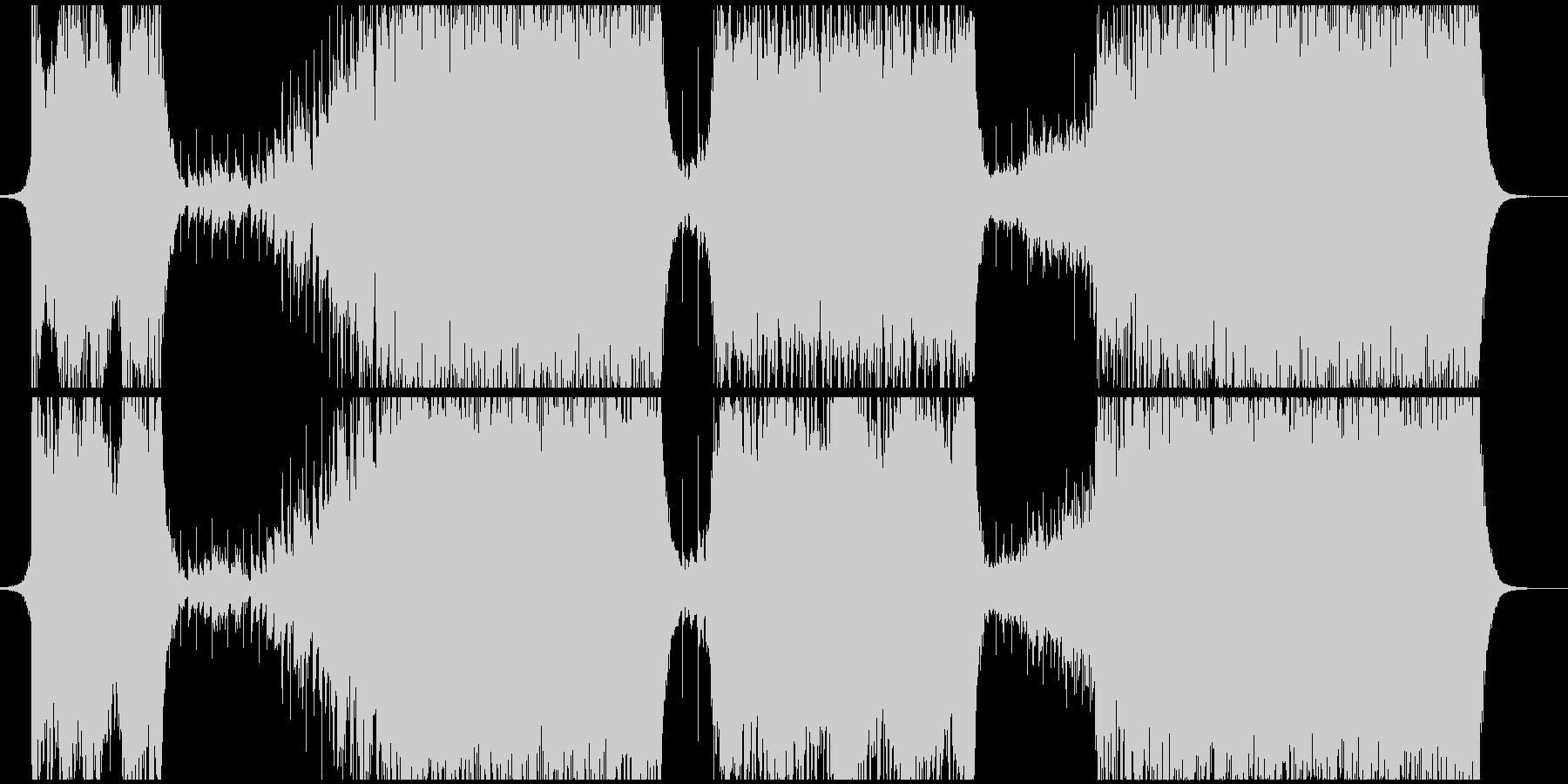 切ないイメージのEDMの未再生の波形