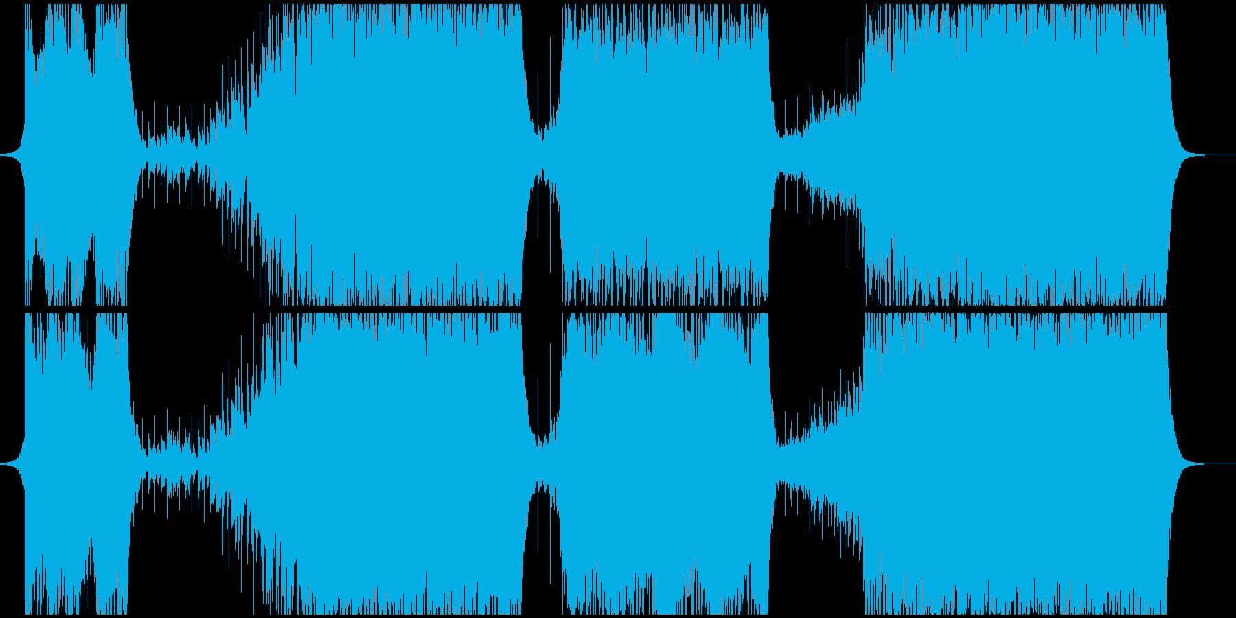 切ないイメージのEDMの再生済みの波形