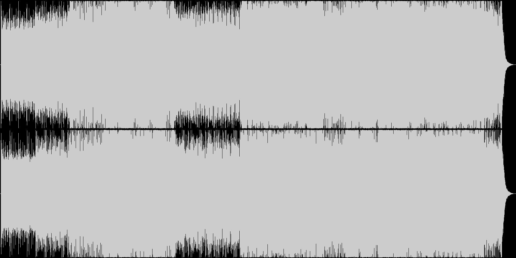 マジック 手品 イリュージョン 登場の未再生の波形
