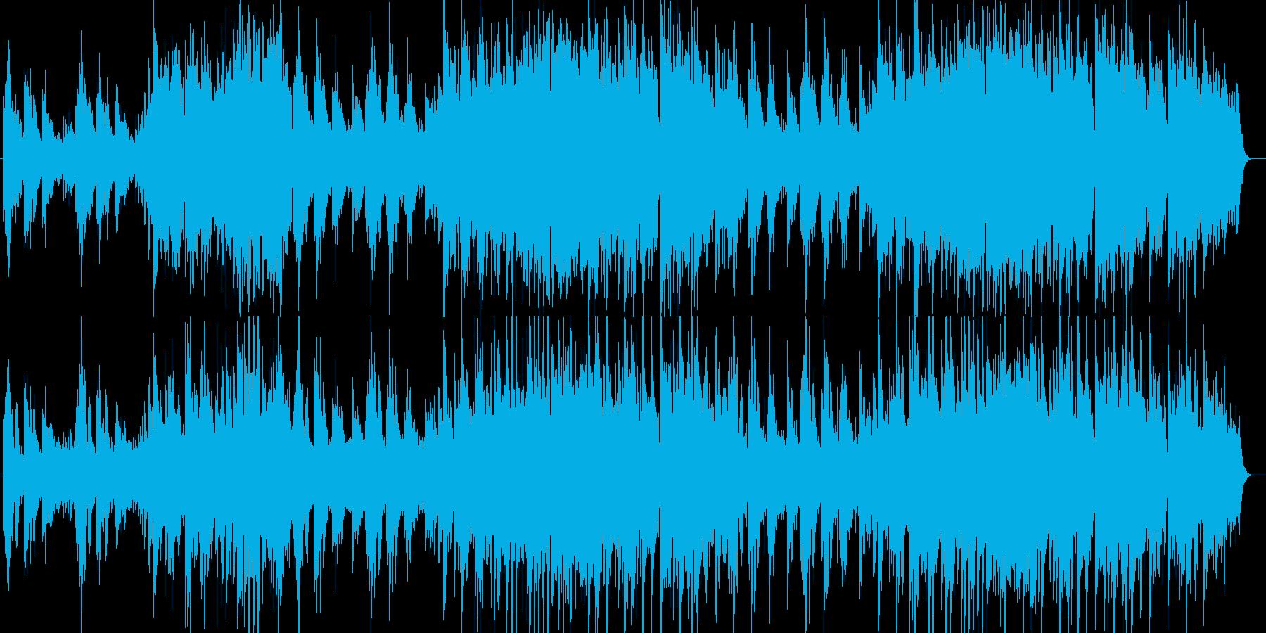 美しく切ないシンセサイザー系サウンドの再生済みの波形