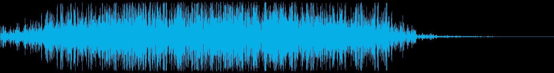 土、大地の魔法(地震+石音)の再生済みの波形