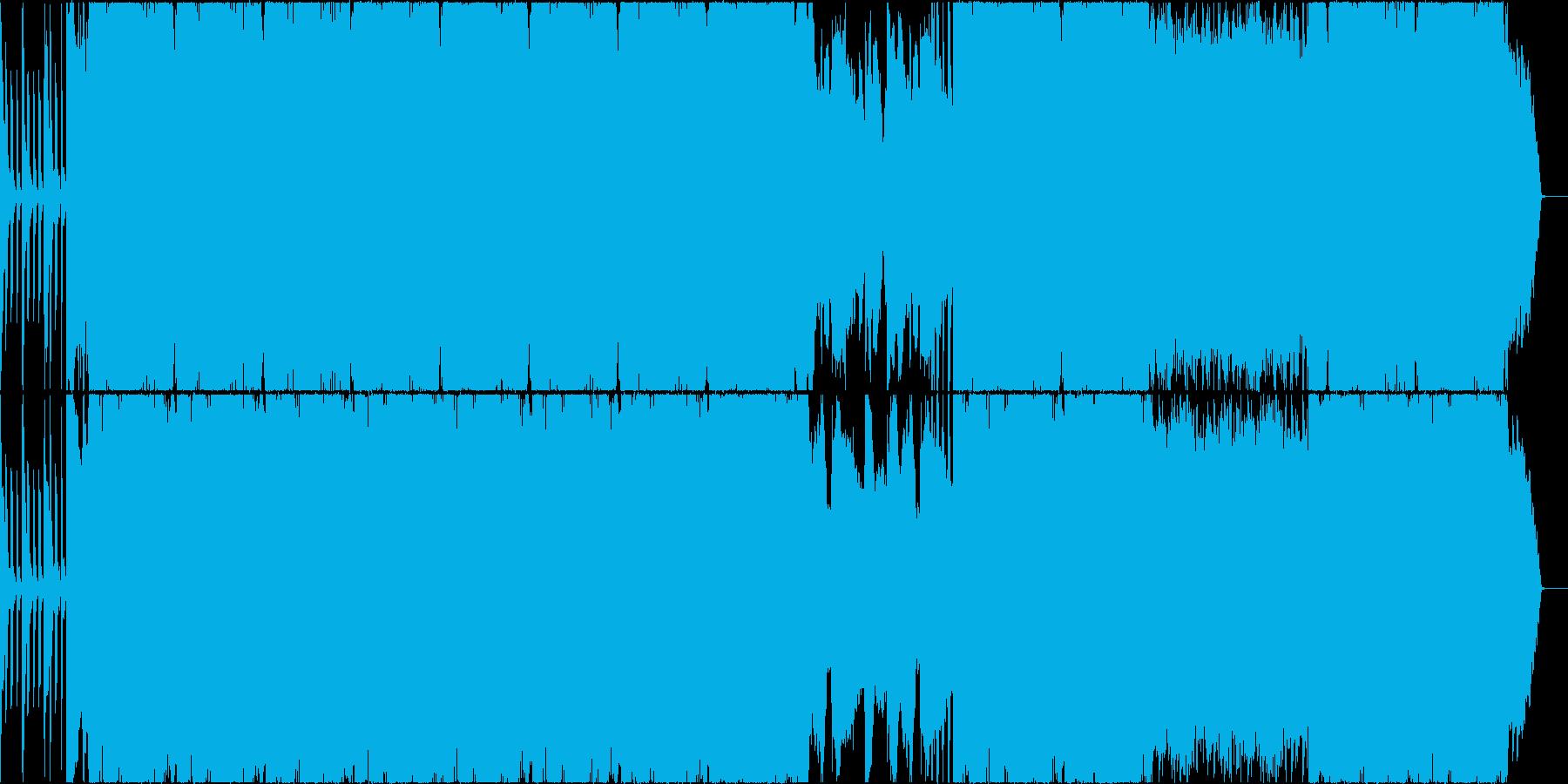 唸るベースのおしゃれピアノサウンドの再生済みの波形