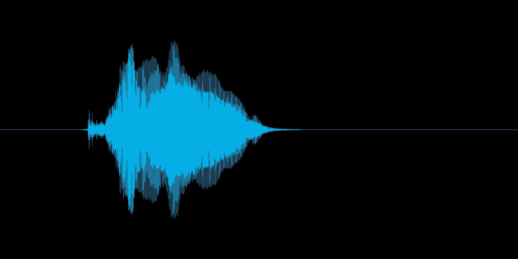 きゅん!の再生済みの波形