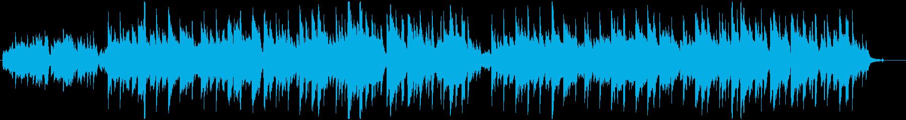 アイルランド民謡のアコースティックカバーの再生済みの波形