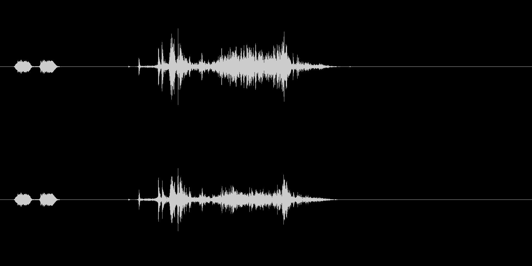 携帯カメラ (ピピッ…カシャ)の未再生の波形