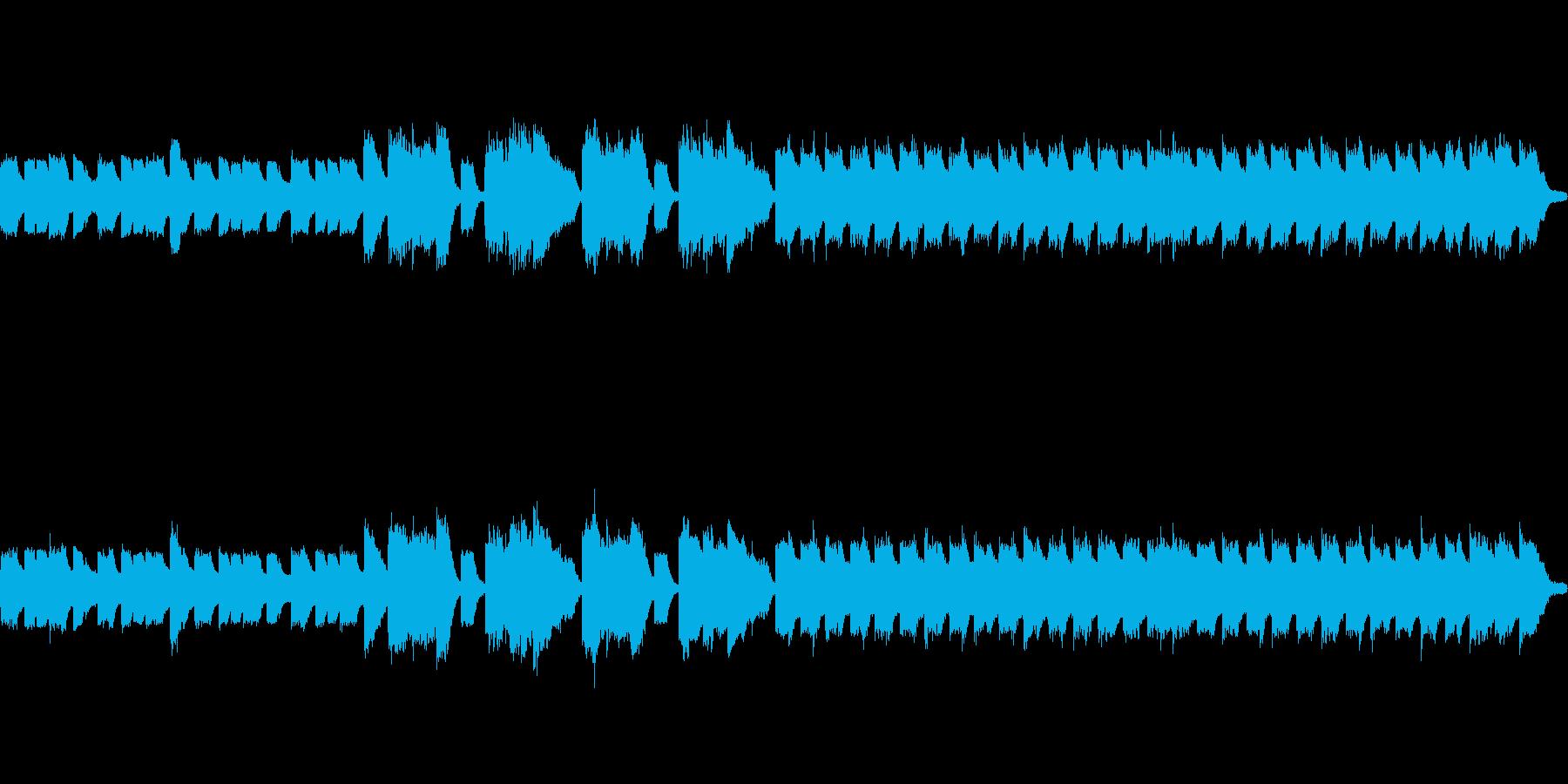 既にほかに投稿してある「小人の村」の音…の再生済みの波形