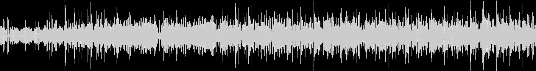 スラップベースが主張している曲の未再生の波形