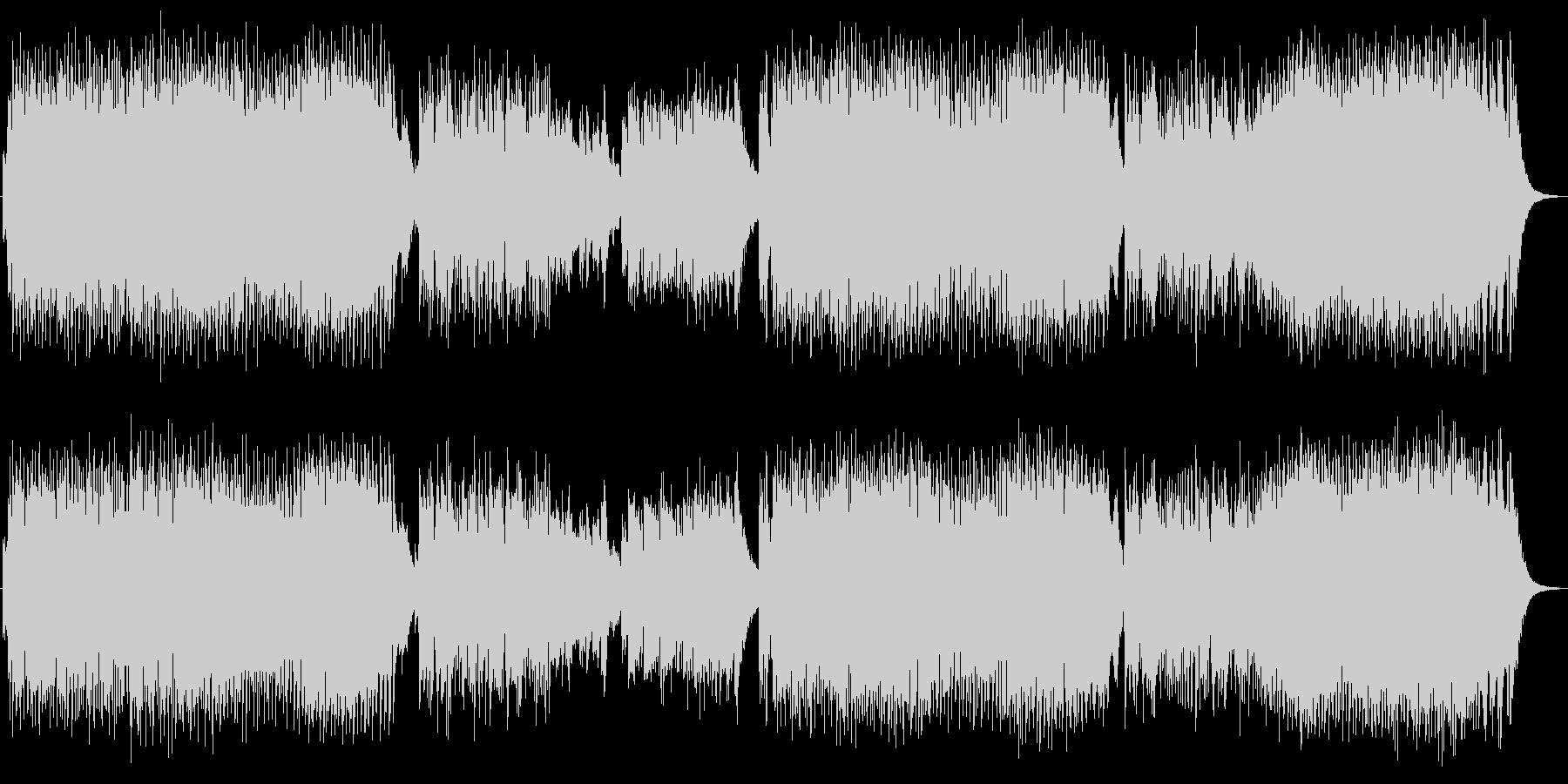 英詞 男声ボーカル ロック ヘヴィメタルの未再生の波形