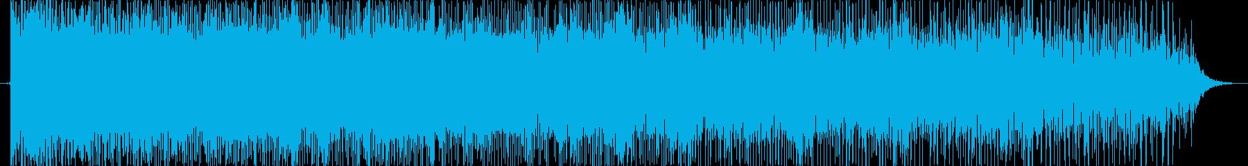 派手なレトロなぴゅーん 下降 コミカルの再生済みの波形