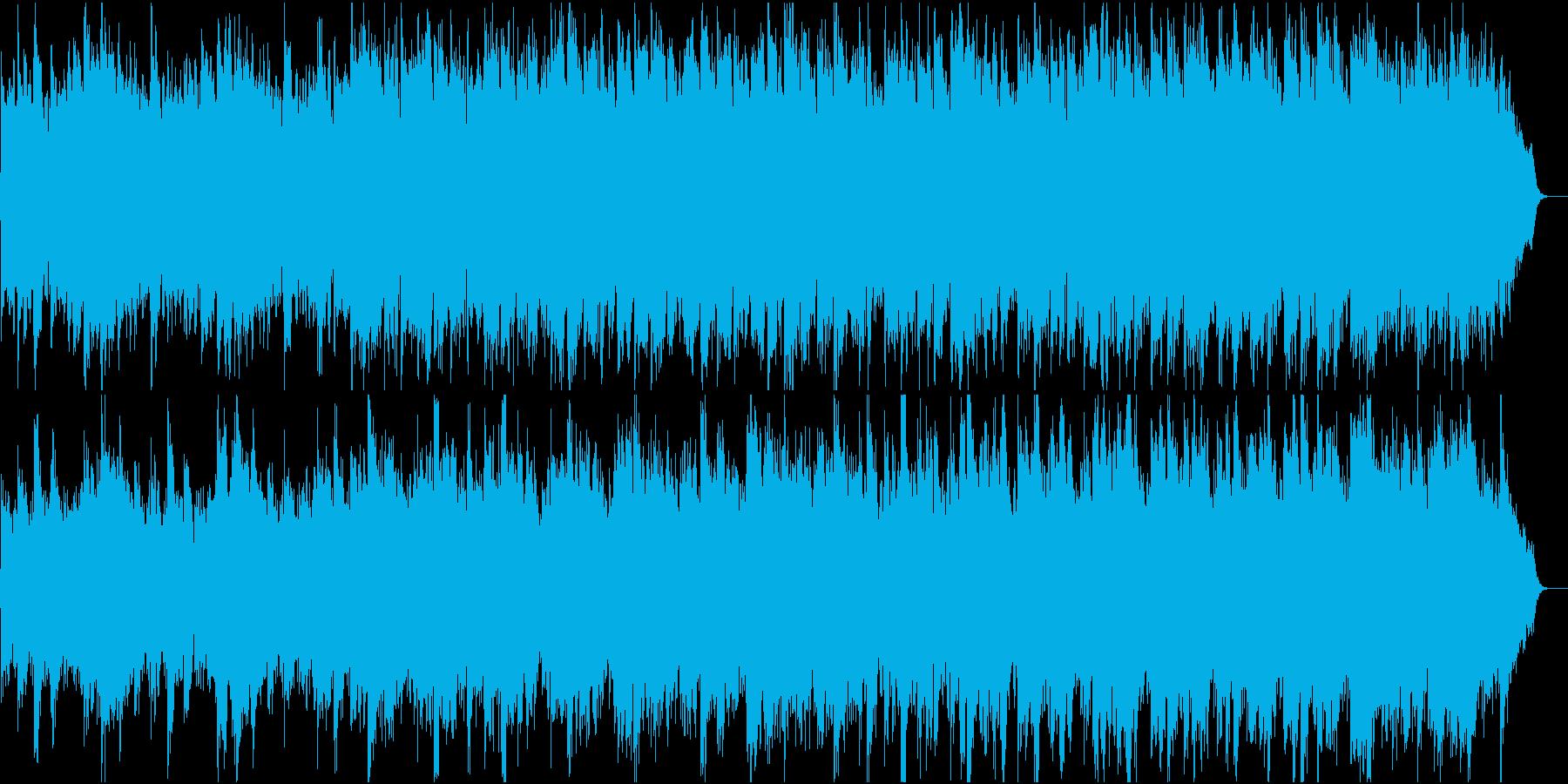 和風:日本の風情・情緒②打楽器なしの再生済みの波形