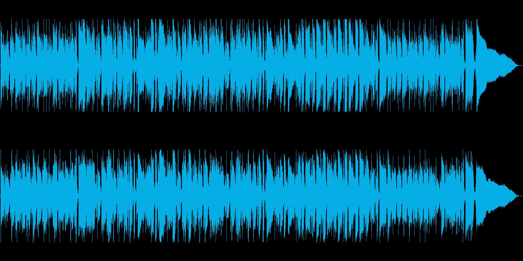 落ち着いた雰囲気のジャズの再生済みの波形