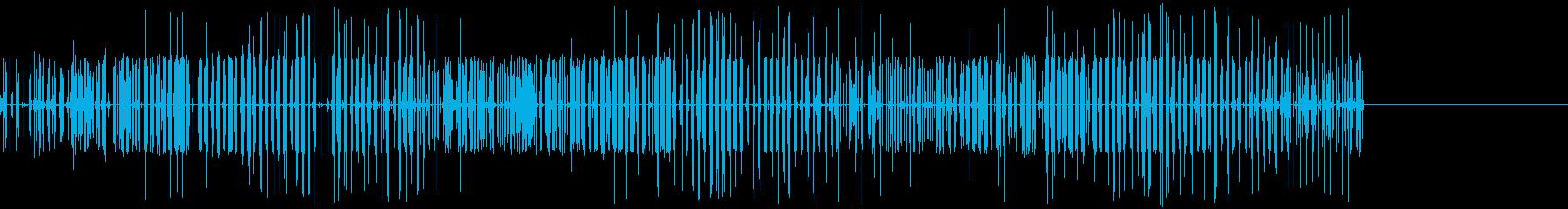 ビリビリ(電気/帯電/スパーク)の再生済みの波形