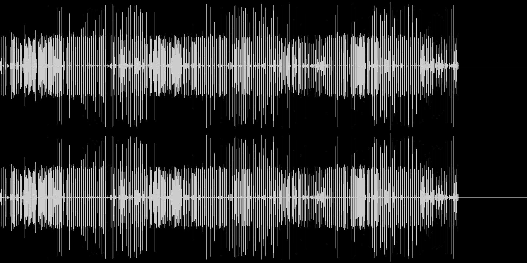ビリビリ(電気/帯電/スパーク)の未再生の波形