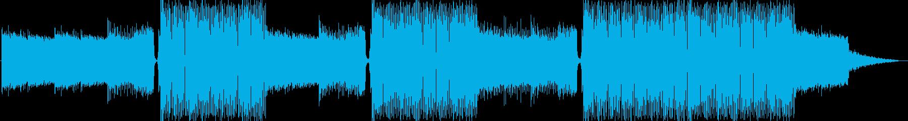 EDMクラブ系ダンスミュージック-06の再生済みの波形