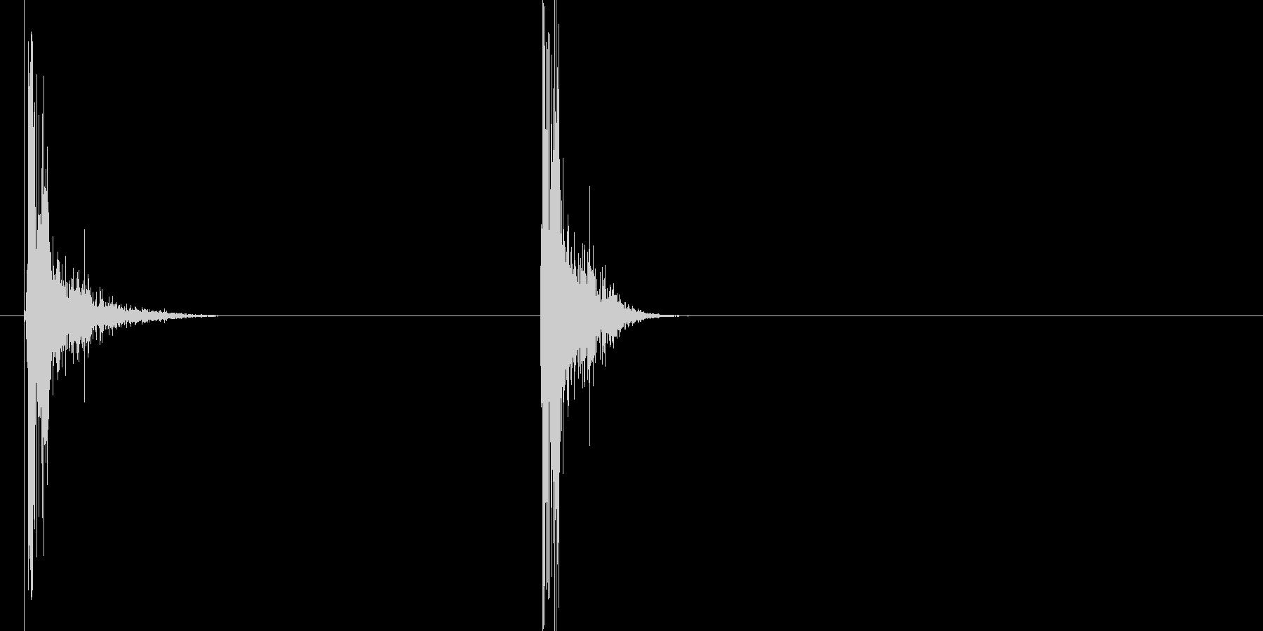 火花/スパーク音(パチッ)の未再生の波形