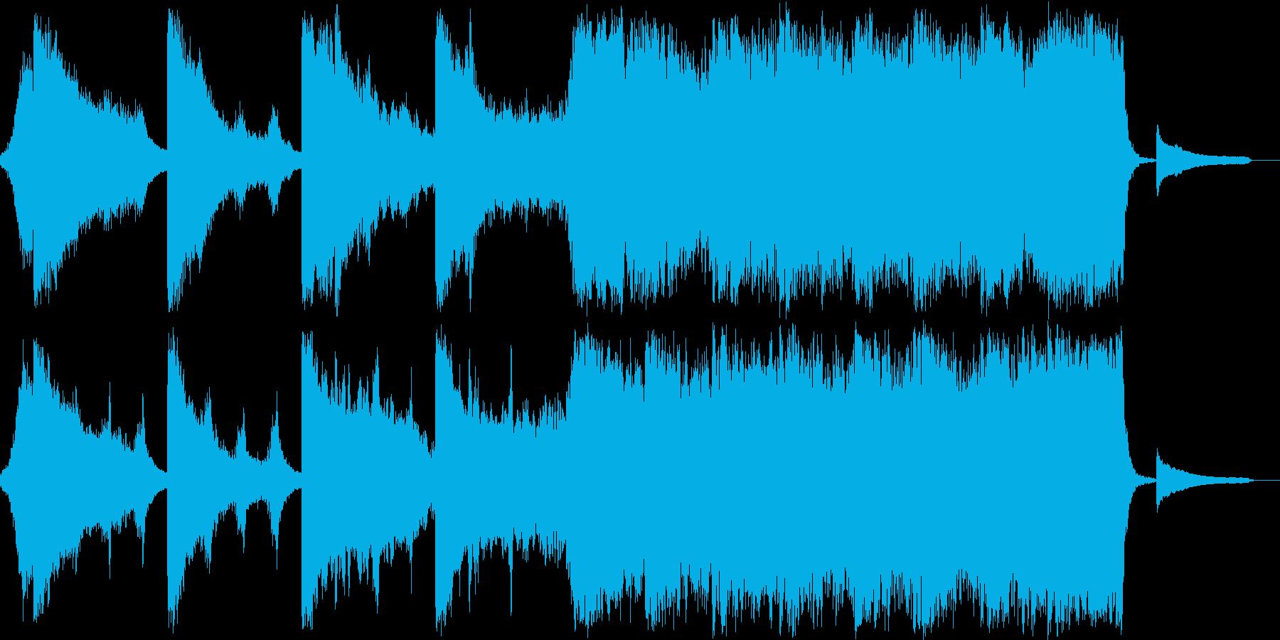 変わるの再生済みの波形