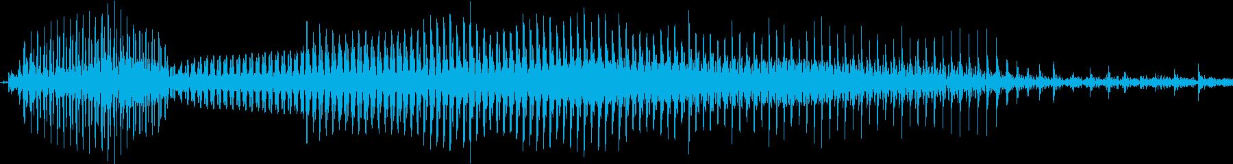 ダメー!の再生済みの波形