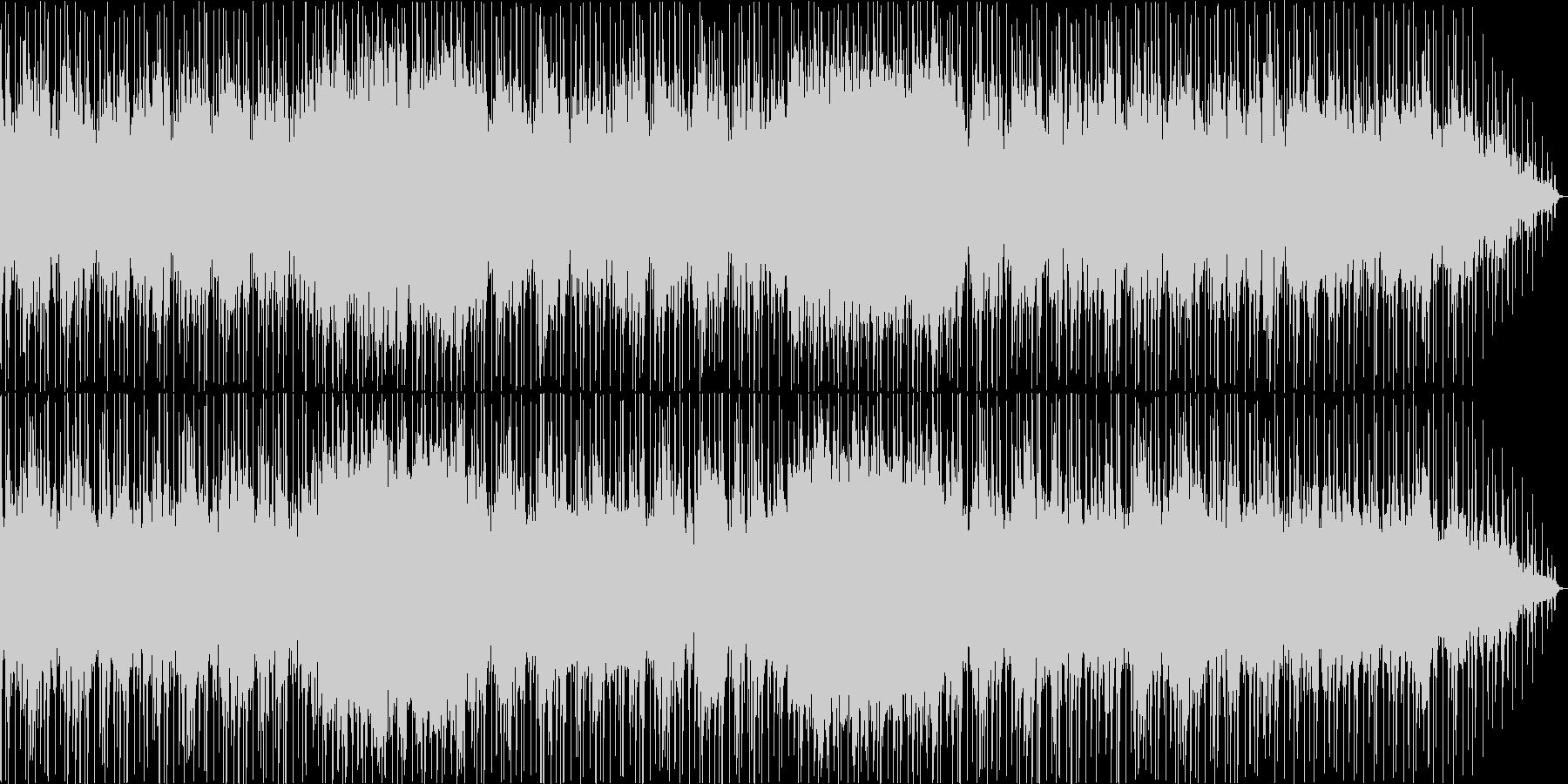 優しく可愛らしい音色のリラクゼーションの未再生の波形