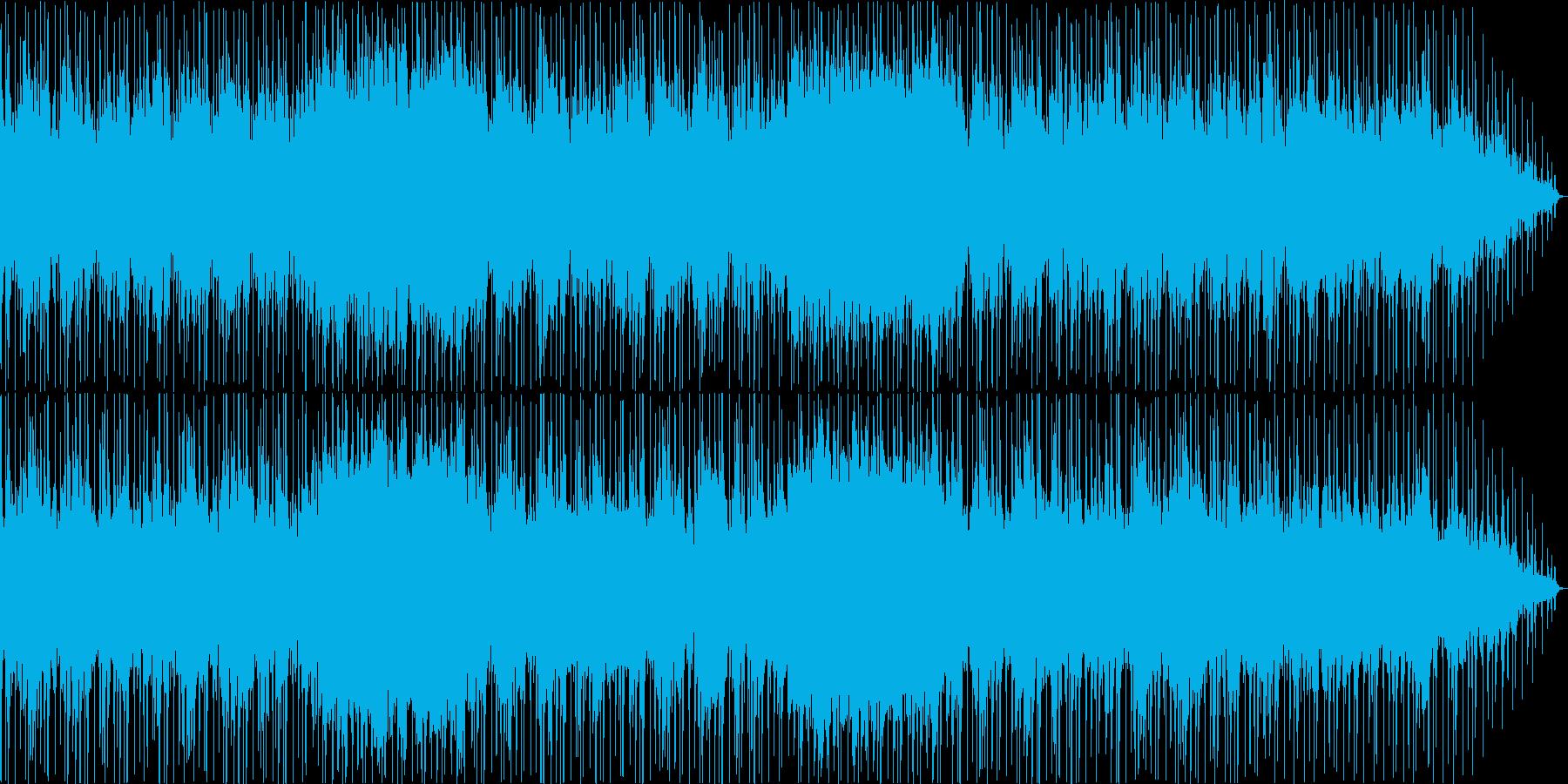優しく可愛らしい音色のリラクゼーションの再生済みの波形
