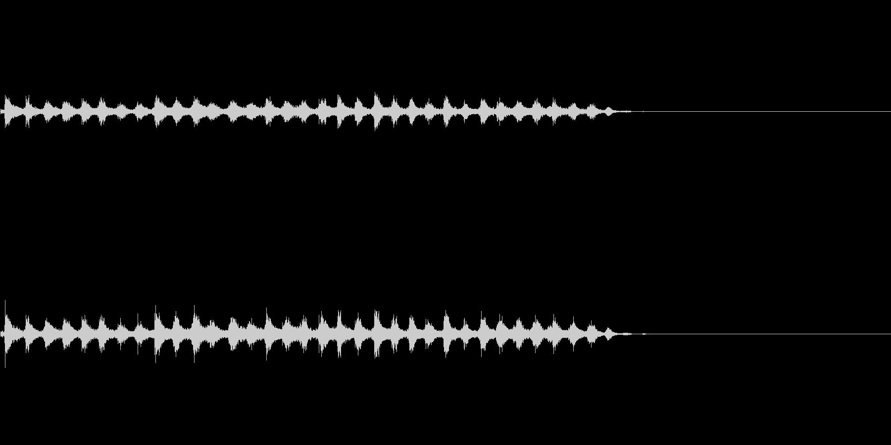『チャッパ』和製シンバルのフレーズ3FXの未再生の波形