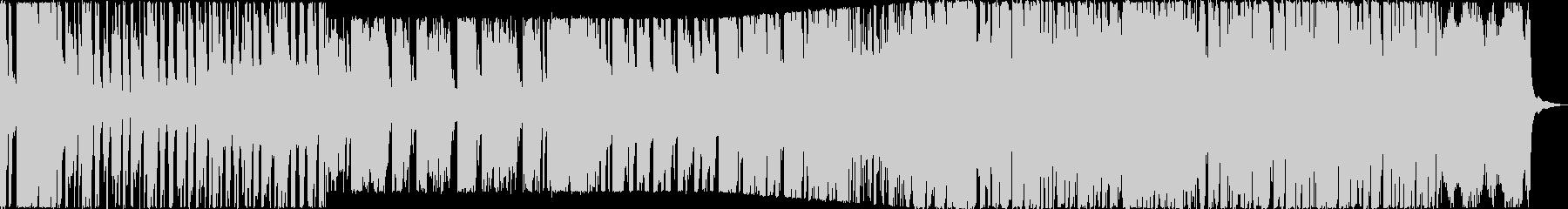 お洒落系ゲームBGMの未再生の波形