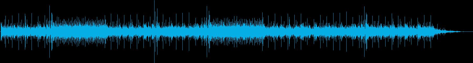 サスペンスドラマ・エンディング風サウンドの再生済みの波形