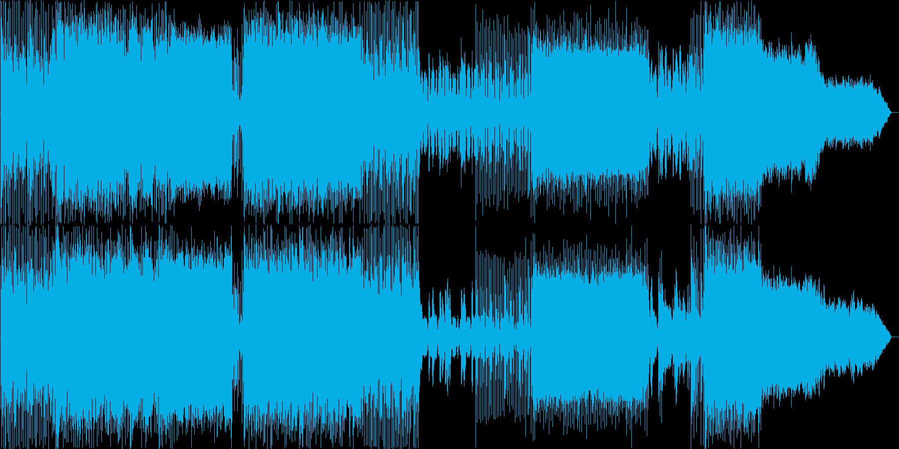 ドラマチックデジタルオーケストラギター2の再生済みの波形