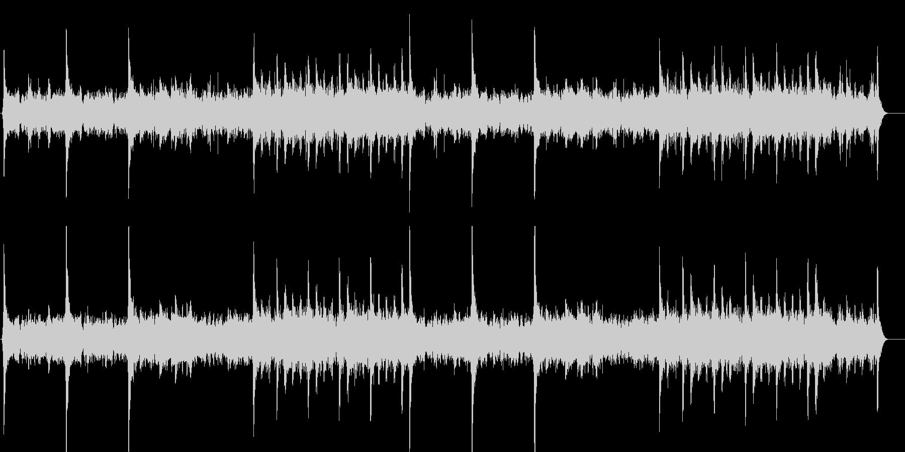 浸蝕(コールド・リップヘッド)の未再生の波形