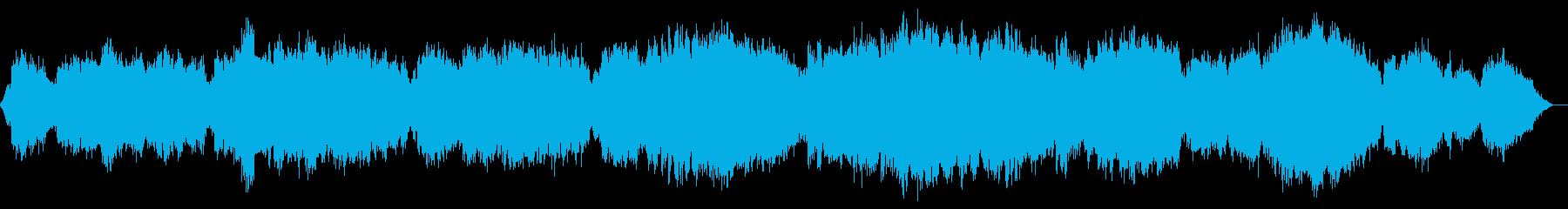 サックスとストリングスのバラードの再生済みの波形