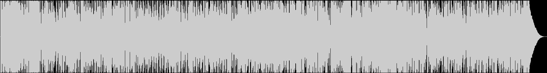 夏にピッタリすずやかな速めのボサノバの未再生の波形