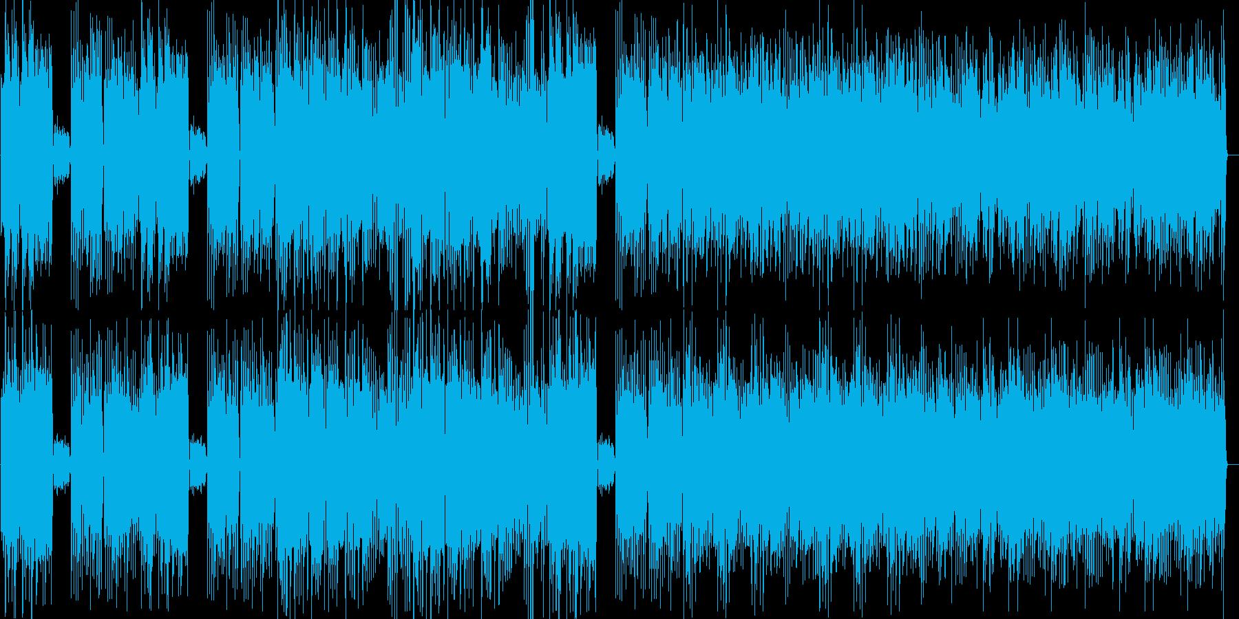 ラグタイム_メイプルリーフ・ラグの再生済みの波形