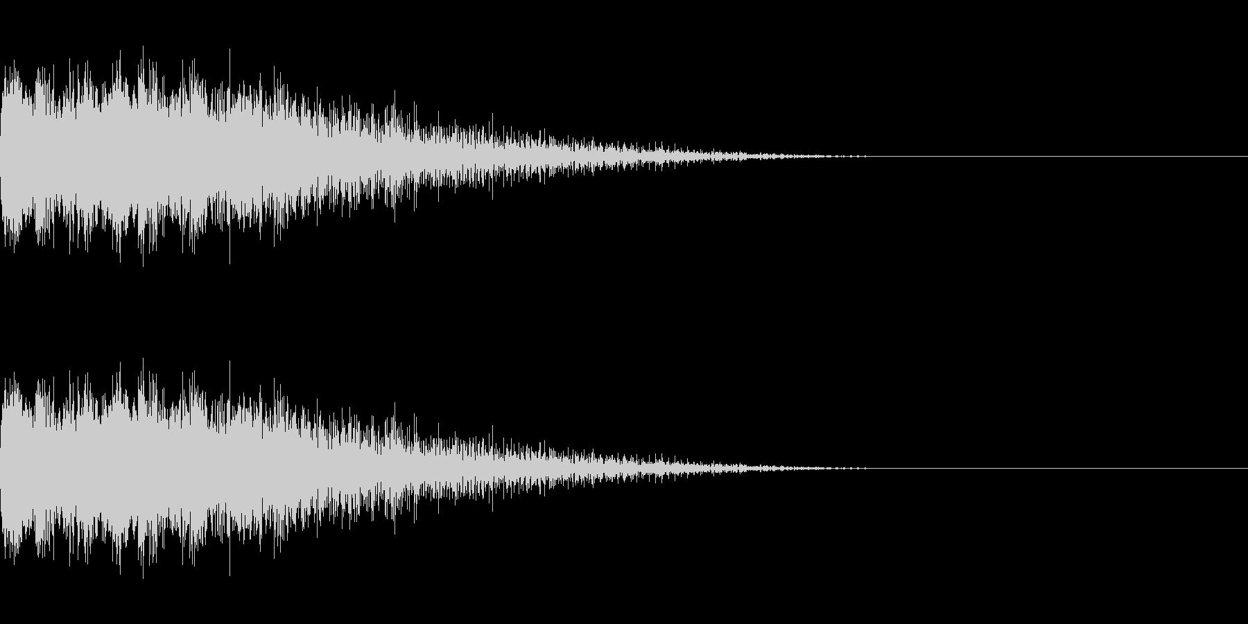 ピユーン(低下_エフェクト_ダウン)の未再生の波形
