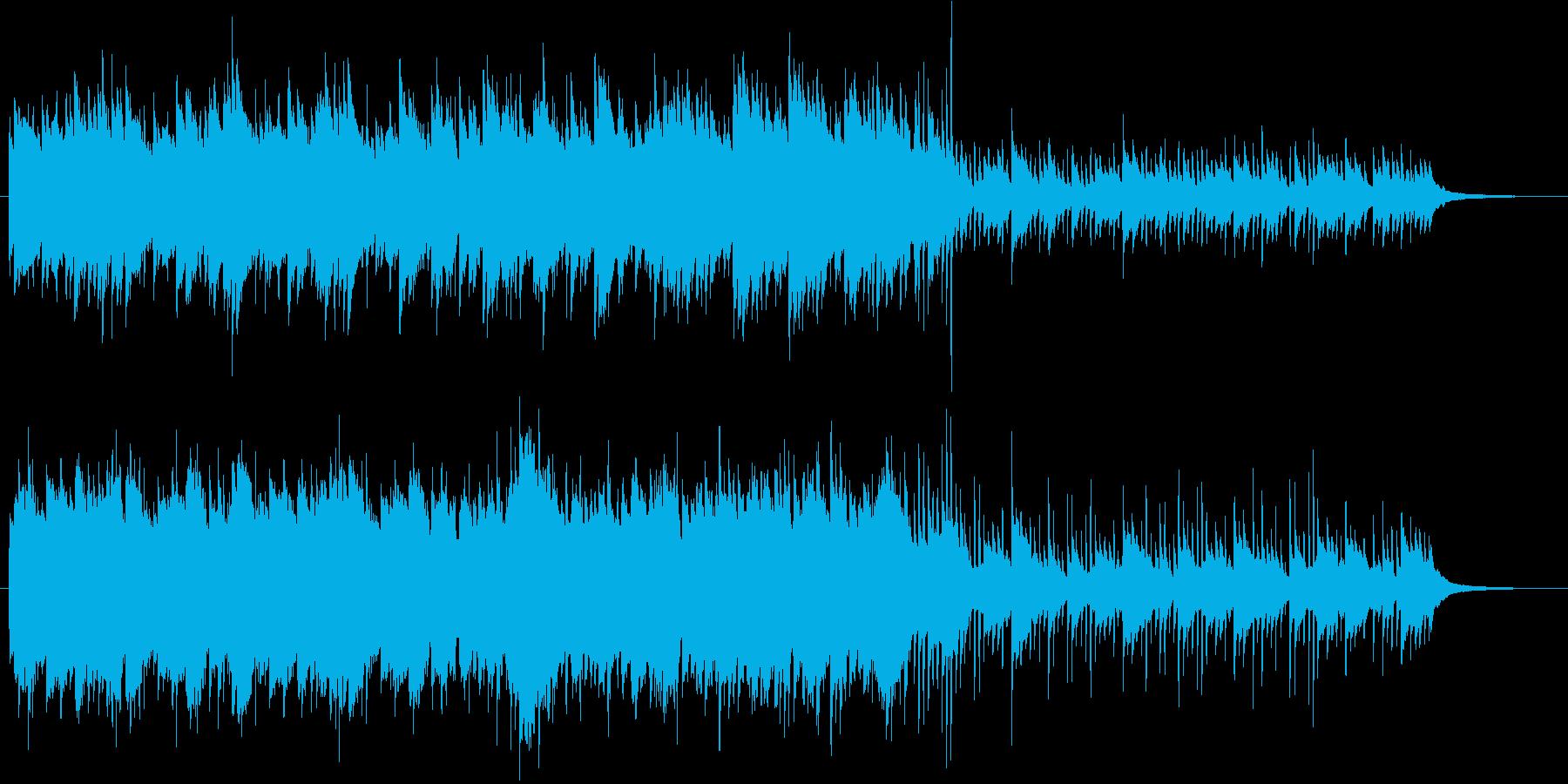 物悲しい回想シーンに流れるピアノソロの再生済みの波形
