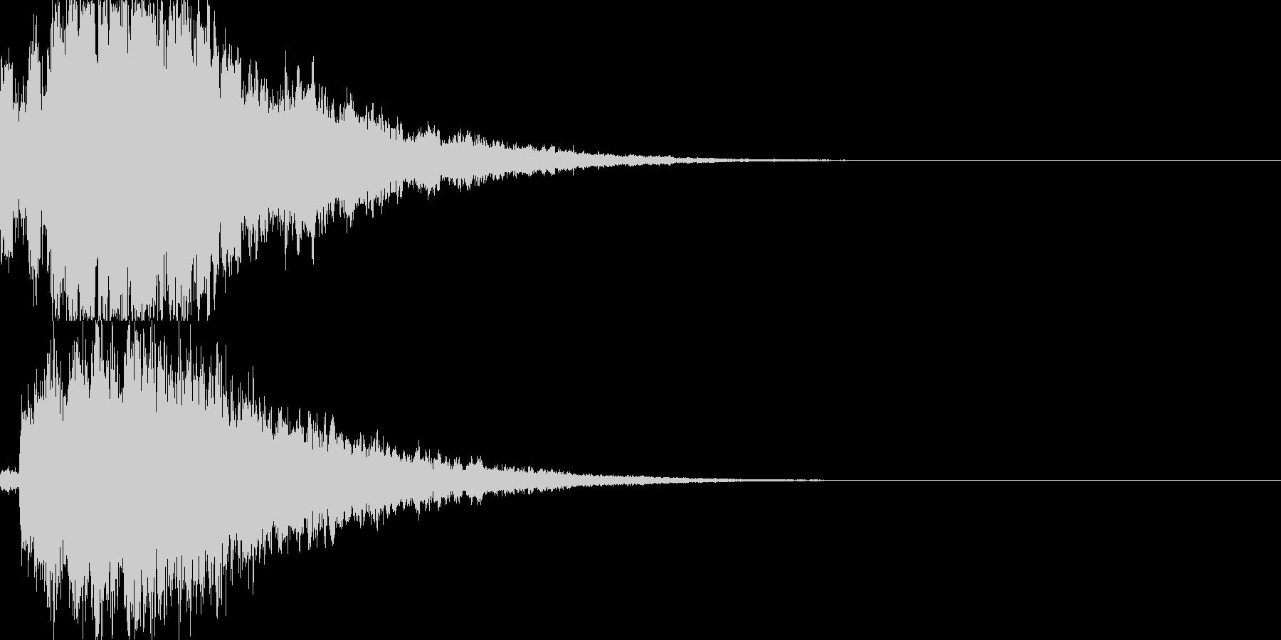 システム音27_シンセDXの未再生の波形