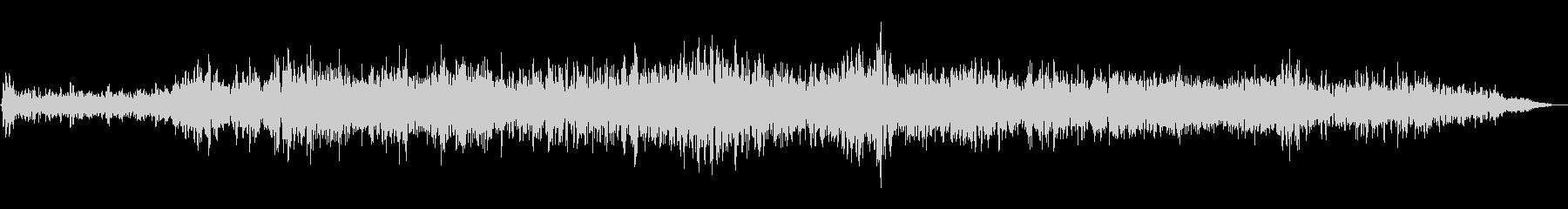 シューワー(通過音)の未再生の波形