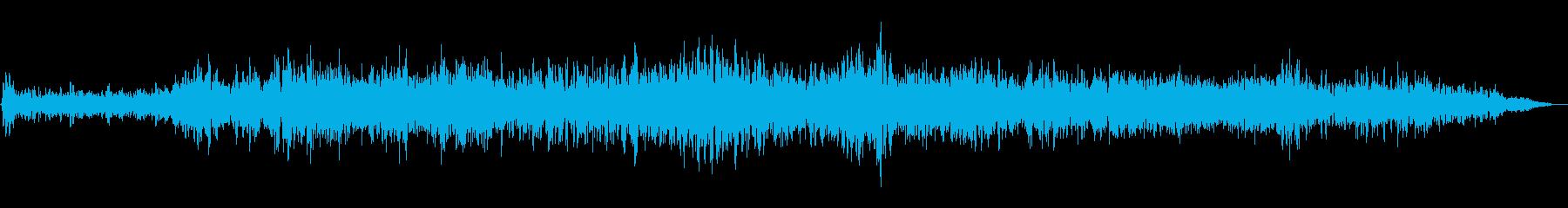 シューワー(通過音)の再生済みの波形
