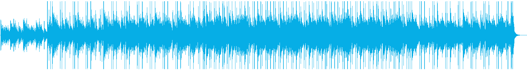 日常シーンなどに使えるBGMの再生済みの波形