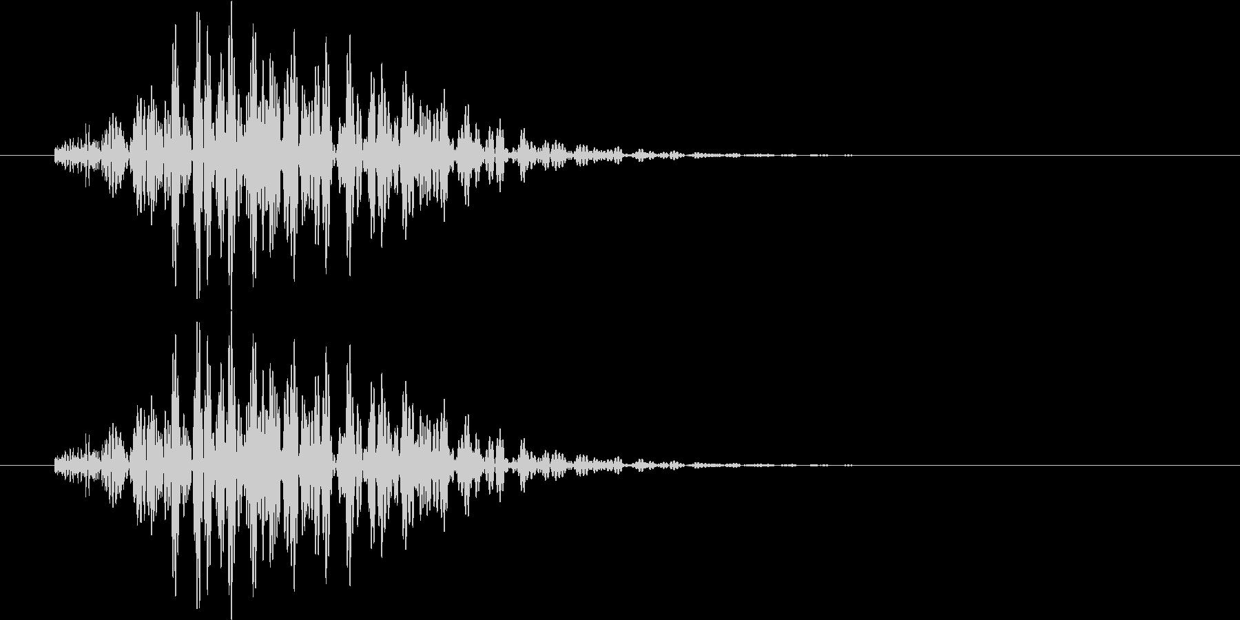 ボロン(選択、警告等)の未再生の波形