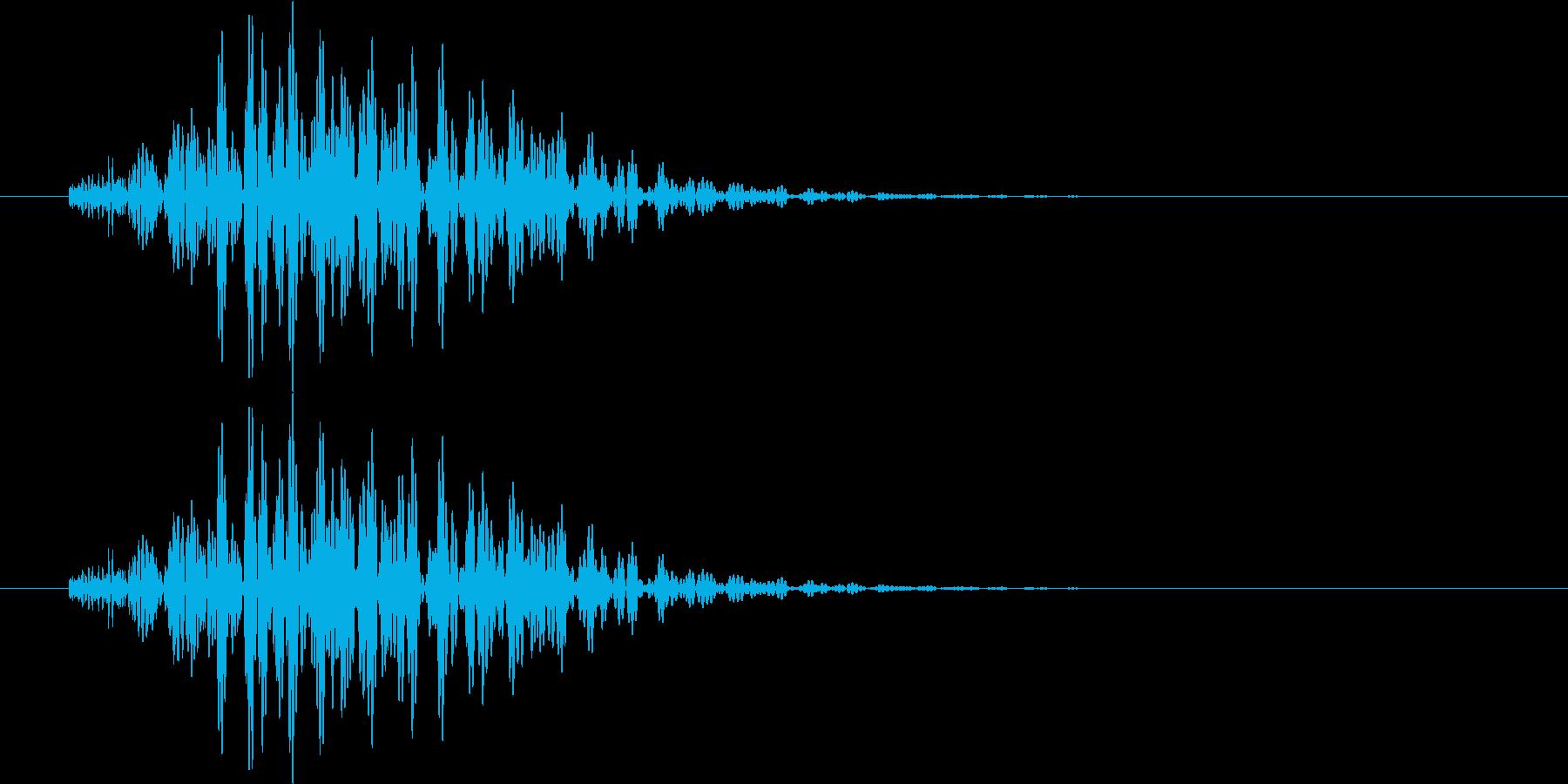 ボロン(選択、警告等)の再生済みの波形