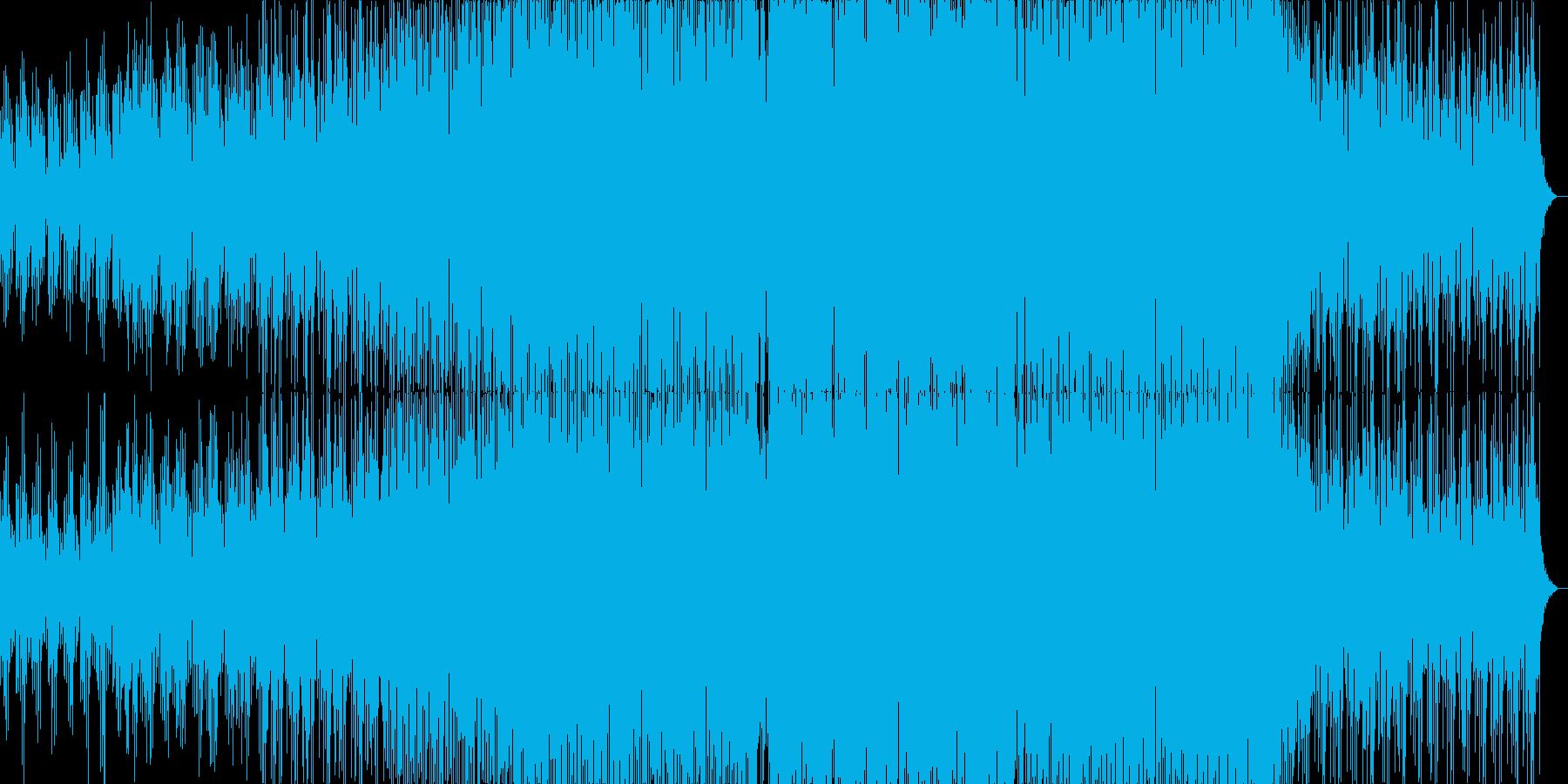 エモーショナルで近未来的なドラムンベースの再生済みの波形