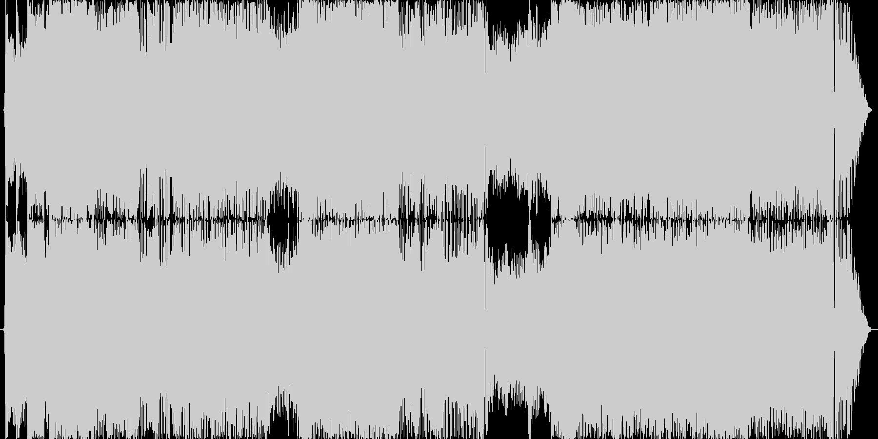 映画音楽などに使える疾走感のある壮大な曲の未再生の波形