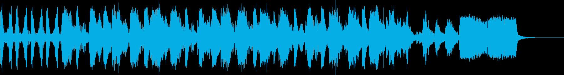 サウンドロゴHIPHOP-DJstyleの再生済みの波形