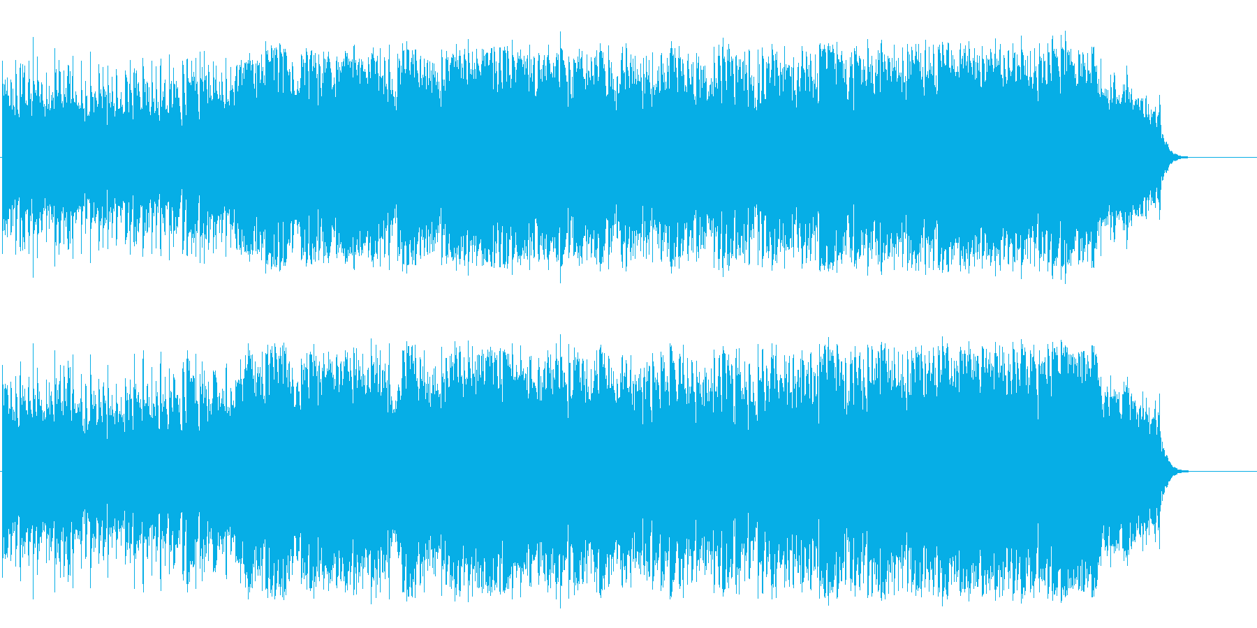 愛に溢れるハートフルなミディアムバラードの再生済みの波形
