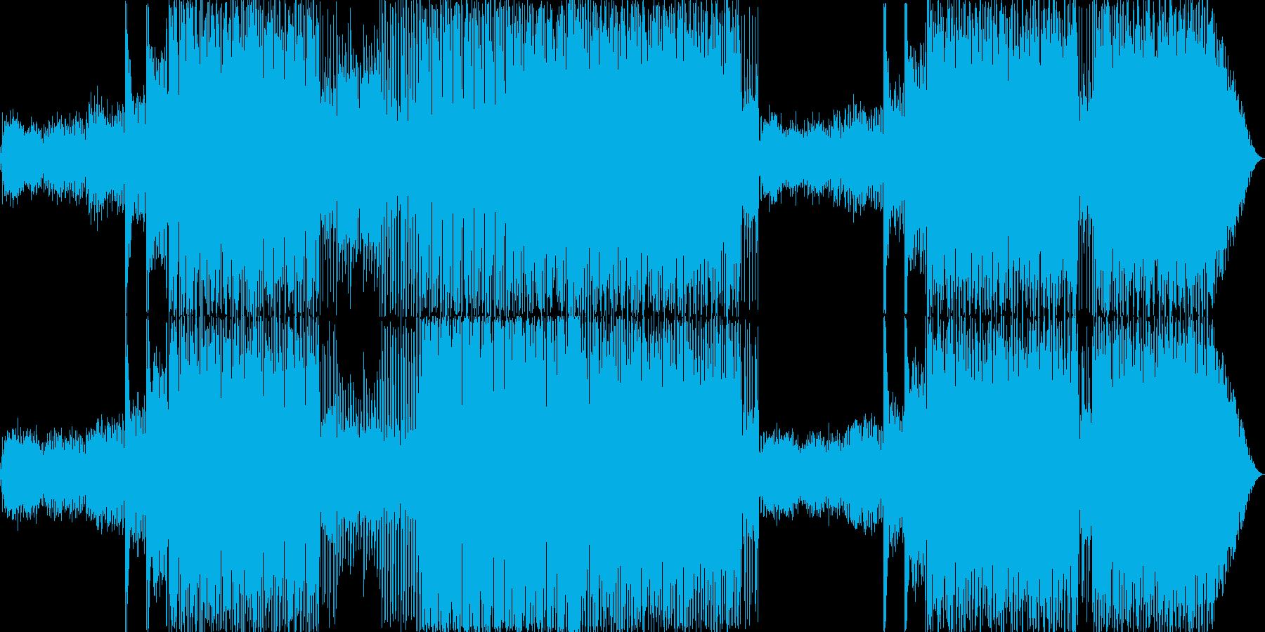 80年代ディスコなEDMの再生済みの波形